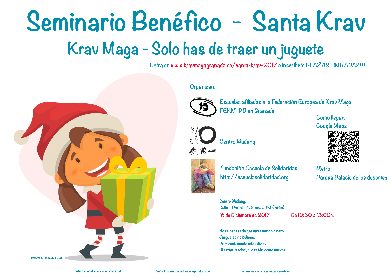 Seminario benéfico de Krav Maga de recogida de juguetes